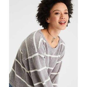 American Eagle | Chenille Balloon Sleeve Sweater S